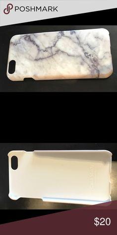 Case study LA marble iPhone 6 Plus case Grey, white, and black marble iPhone 6 Plus case. Perfect condition. Accessories Phone Cases