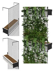 plant shading for buildings | Green Facade Omni Ecosystems