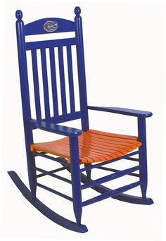 University Of Florida Rocking Chair Sales In Augusta GA U0026 Savannah GA    Florida Gators Rocker By Hinkle Chair