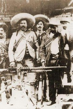 Pancho Villa, responsible for the first attack on U.S. soil since 1812.  His forces  attacked Columbus, New Mexico in 1916.  Considered a folk hero by many.