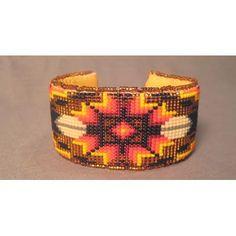 Loom Beaded Cuff - Jeaneen Lone Hill (Lakota)