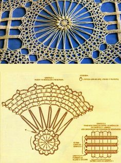 Znalezione obrazy dla zapytania mandalas tejidos al crochet patrones