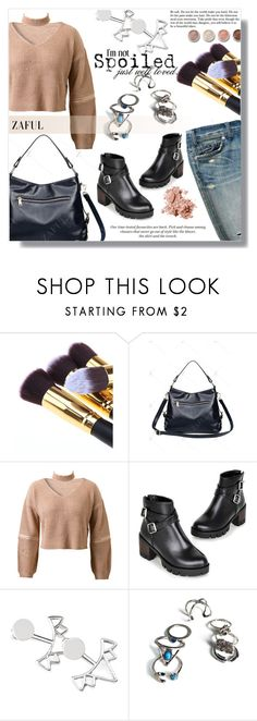"""""""Ready to go"""" by fashion-pol ❤ liked on Polyvore featuring H&M, Terre Mère and Bobbi Brown Cosmetics"""