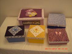 caixas em mdf forradas com tecido