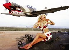 TBT modeling for calendar, pinup style of 40s #fun #happygirl #model #photography #style