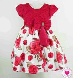 Curiosidades. Toddler Dress, Toddler Outfits, Baby Dress, Kids Outfits, Little Dresses, Little Girl Dresses, Girls Dresses, Fashion Kids, Dress Anak