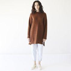 HDH Tunic Sweater Rust 1
