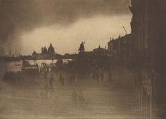 James Craig Annan (Scottish) - The Riva Schiavoni, Venice, 1904.