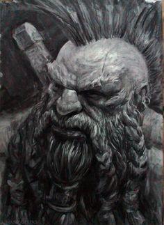 Dwarf , Antonio J. Manzanedo on ArtStation at https://www.artstation.com/artwork/4zP2L