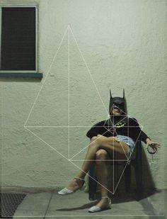 Batgirl gekontert mit Spiralschnitt