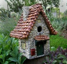 + 32 essential things for Stone Birdhouse Fairy Houses 54 -.-+ 32 wesentliche Dinge für Stone Birdhouse Fairy Houses 54 – … + 32 essentials for Stone Birdhouse Fairy Houses 54 – - Fairy Garden Houses, Garden Art, Home And Garden, Fairy Gardens, Miniature Gardens, Garden Design, Gnome House, Fairy Doors, Little Houses