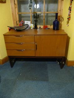 Vintage #retro mid century #1960s/70s #europa teak sideboard cabinet ,  View more on the LINK: http://www.zeppy.io/product/gb/2/331845681788/