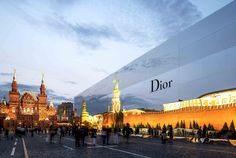 Christian Dior RTW FW13  Tuesday, July 9th, 2013  Red Square, Moscow  Produced and directed by Bureau Betak