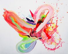 Fluorescent Paintings by Yago Hortal    http://anthologymag.com/blog3/2012/03/15/fluorescent-paintings-by-yago-hortal/