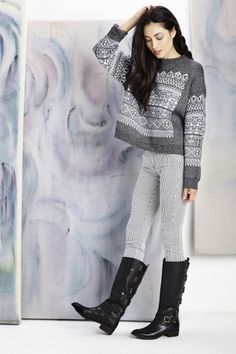 Love the sweater & boots! Super cute look