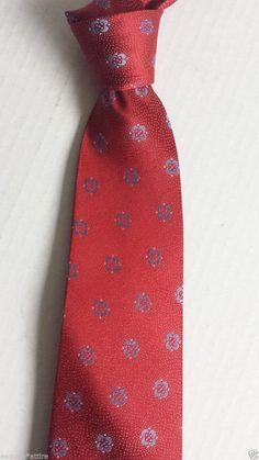 #men dress tie Ike Behar red men neck dress silk tie withing our EBAY store at  http://stores.ebay.com/esquirestore