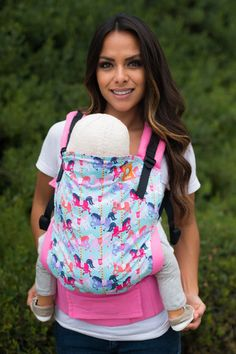 Canvas - Tula Release 'Carousel' TULA BABY CARRIER; Released 6 August 2015