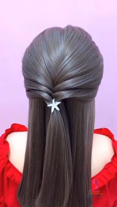 Lil Girl Hairstyles, Bride Hairstyles, Easy Hairstyles, Design Girl, Parlour, Rainbow Hair, How To Make Hair, Great Hair, Hare