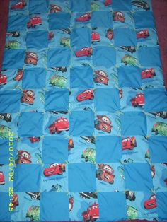 Disney Cars quilt