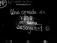 Frase sobre el vino