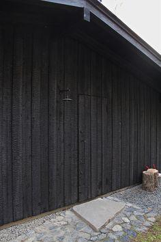Garden workshop entrance