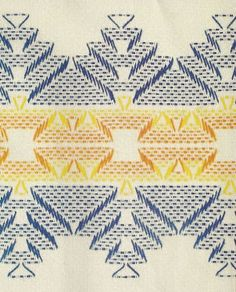Discover thousands of images about Patrones Punto de Cruz: punto yugoslavo Swedish Embroidery, Towel Embroidery, Embroidery Shop, Cross Stitch Embroidery, Embroidery Patterns, Cross Stitches, Swedish Weaving Patterns, Bargello Needlepoint, Chicken Scratch Embroidery