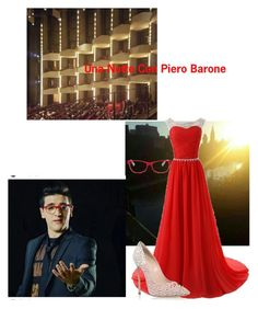 """Una Notte Con Piero Barone"" by melissa-barone ❤ liked on Polyvore featuring Casadei and Corinne McCormack"
