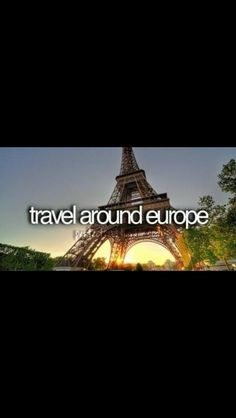 Bucketlist :) - London, Paris, and Rome all in one trip.. Yeah buddy!!