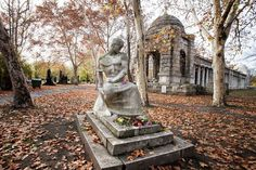 Tomb of famous Hungarian poet Endre Ady - Kerepesi Cemetery, Budapest, Hungary