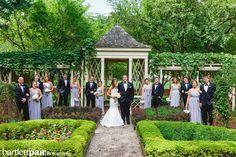 Philadelphia 18th Century Gardens Wedding Bridal Party