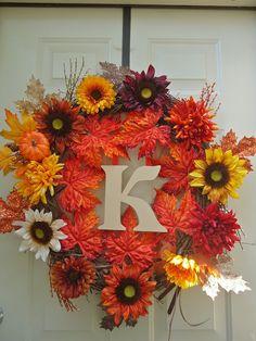 Fall Wreath! #DIY