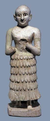 Votive Statue, Khafajah Mesopotamian Art on Loan to the Beijing World Art Museum