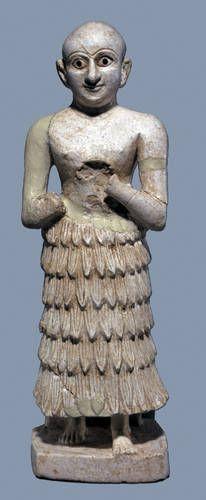 Votive Statue, Khafajah Mesopotamian Art on Loan to the Beijing World Art Museum