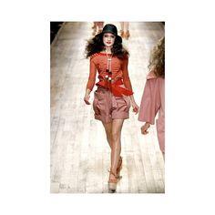 Sonia Rykiel Spring 2011 | Paris Fashion Week ❤ liked on Polyvore