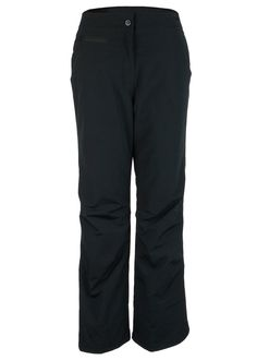 Women's Stretch Ski Pants in Black Fully Insulated Stretch fabric: 100% Polyester with HydroBlock Waterproof Breathable Coating and DuroGuard DWR (durable water repellant) Finis