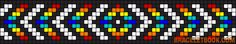Alpha friendship bracelet pattern added by arrow chevron diamond rainbow. Macrame Bracelet Patterns, Bead Loom Bracelets, Friendship Bracelet Patterns, Friendship Bracelets, Beaded Flowers Patterns, Seed Bead Patterns, Beading Patterns Free, Pixel Pattern, Alpha Patterns