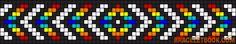 Alpha Friendship Bracelet Pattern #11744 - BraceletBook.com
