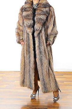 Cross renard renard argenté fourrure manteau silver fox Coat pelliccia volpe foururre
