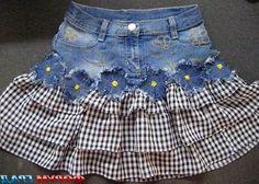 Как украсить джинсы или брюки? How to decorate jeans or pants?