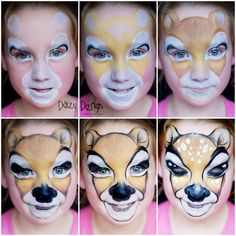 Step-by-Step Deer | Daizy Design Face Painting