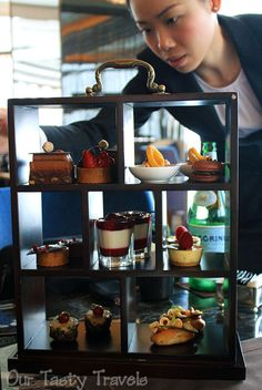 Chocolate Afternoon Tea at the Ritz-Carlton, Hong Kong