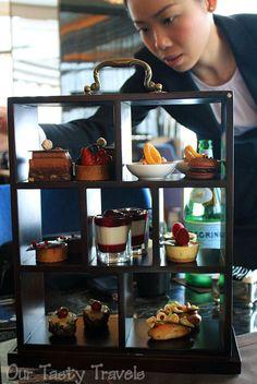 Chocolate Afternoon Tea at the Ritz-Carlton, Hong Kong