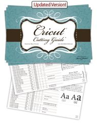 Cricut Cutting Guide free printable