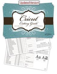 Cricut Cutting Guide free printable