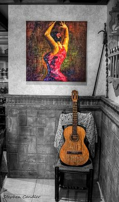 Flamenco Guitar by Light+Shade [spcandler.zenfolio.com], via Flickr