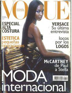 de8c135297def 135 mejores imágenes de Revistas vogue   Vogue covers, Vogue spain y ...