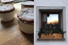Aux Bulles Rezepte - Maronicreme Soufflé Ice, Recipies, Holiday, Easy Meals, Food And Drinks, Christmas