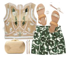 """""""Free Fall"""" by zephiranya ❤ liked on Polyvore featuring Delpozo, Mother of Pearl, Diane Von Furstenberg, Ancient Greek Sandals, Ryan Storer and Madewell"""