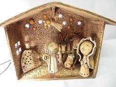 Betlém Baby Jesus, Automata, Hobbies And Crafts, Nativity Sets, Pottery, Clay, Ceramics, Reyes, Ornaments