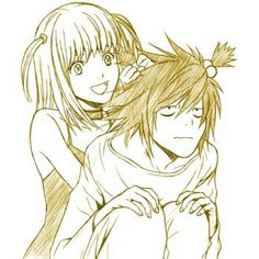 Death note - Misa and L